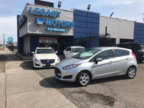 2014 Ford Fiesta for sale at Legacy Motors in Detroit MI