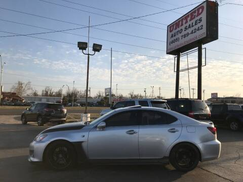 2009 Lexus IS F for sale at United Auto Sales in Oklahoma City OK