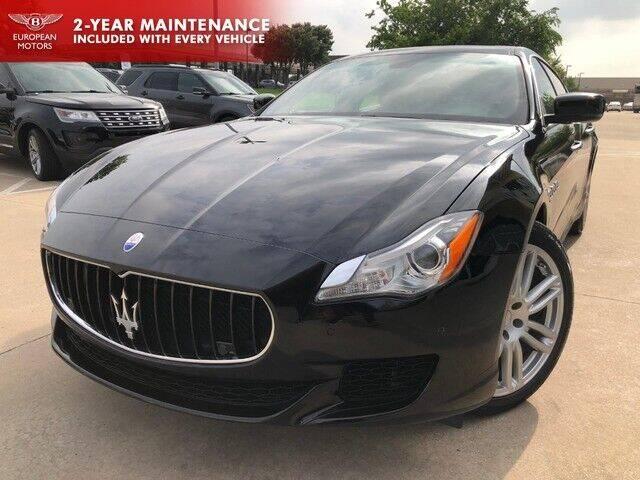 2016 Maserati Quattroporte for sale at European Motors Inc in Plano TX