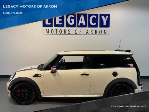 2009 MINI Cooper Clubman for sale at LEGACY MOTORS OF AKRON in Akron OH