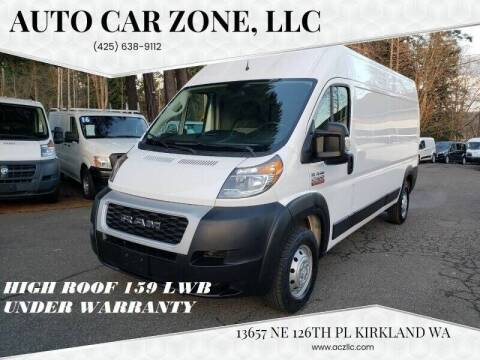 2019 RAM ProMaster Cargo for sale at Auto Car Zone, LLC in Kirkland WA
