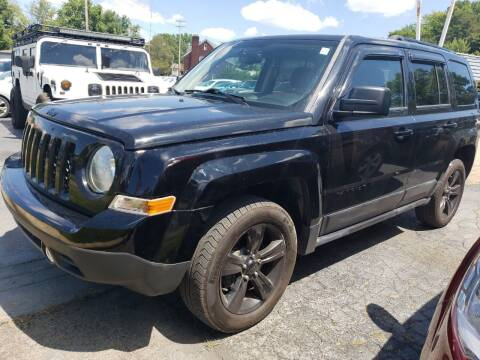 2015 Jeep Patriot for sale at COLONIAL AUTO SALES in North Lima OH