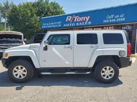 2007 HUMMER H3 for sale at R Tony Auto Sales in Clinton Township MI