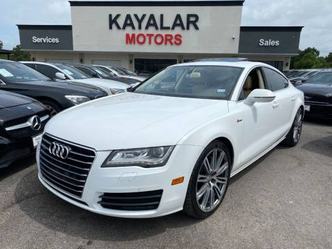 2012 Audi A7 for sale at KAYALAR MOTORS in Houston TX