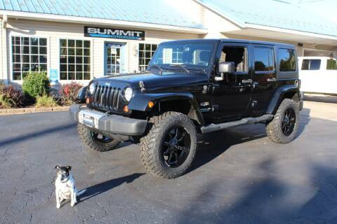 2013 Jeep Wrangler Unlimited for sale at Summit Motorcars in Wooster OH