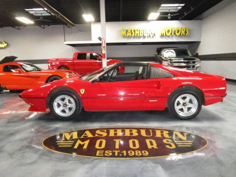 1981 Ferrari 308 GTS for sale at Mashburn Motors in Saint Clair MI