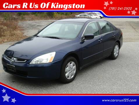 2003 Honda Accord for sale at Cars R Us Of Kingston in Kingston NH