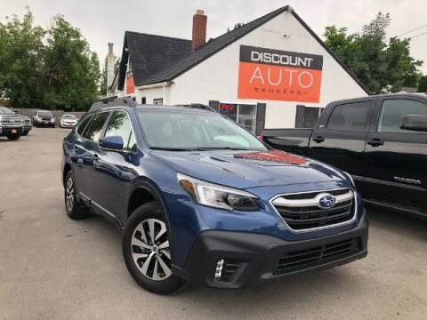 2021 Subaru Outback for sale at Discount Auto Brokers Inc. in Lehi UT