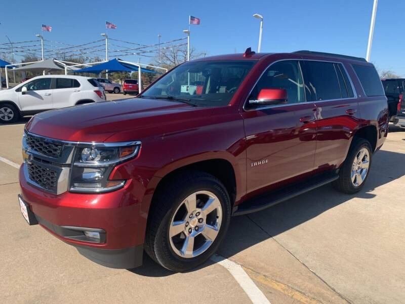 2016 Chevrolet Tahoe for sale at JOHN HOLT AUTO GROUP, INC. in Chickasha OK