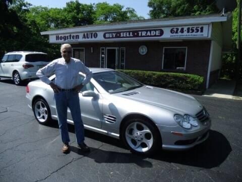 2005 Mercedes-Benz SL-Class for sale at HOGSTEN AUTO WHOLESALE in Ocala FL