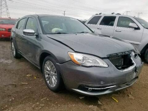 2013 Chrysler 200 for sale at Varco Motors LLC - Builders in Denison KS