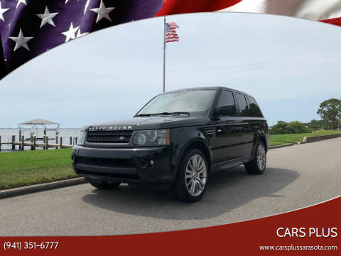 2011 Land Rover Range Rover Sport for sale at Cars Plus in Sarasota FL