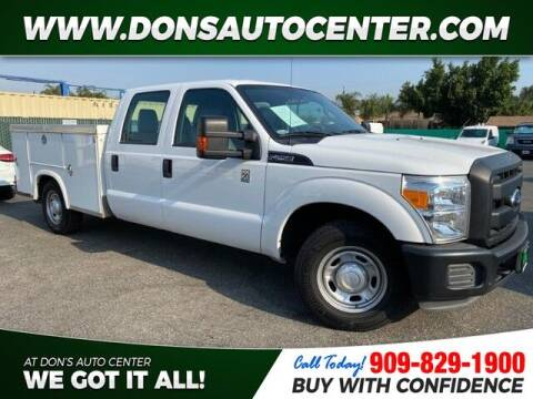 2016 Ford F-250 Super Duty for sale at Dons Auto Center in Fontana CA