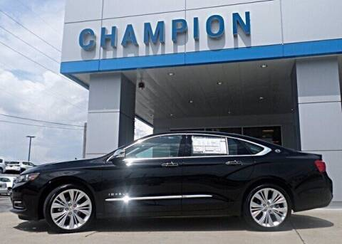 2019 Chevrolet Impala for sale at Champion Chevrolet in Athens AL