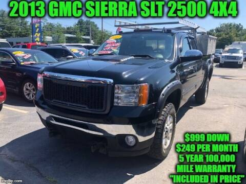 2013 GMC Sierra 2500HD for sale at D&D Auto Sales, LLC in Rowley MA