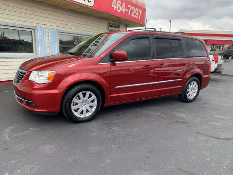 2013 Chrysler Town and Country for sale at Doug White's Auto Wholesale Mart in Newton NC