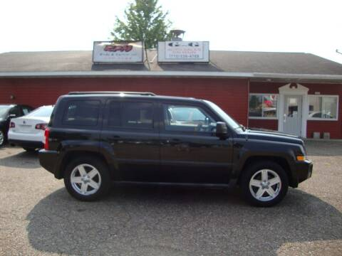 2010 Jeep Patriot for sale at G and G AUTO SALES in Merrill WI