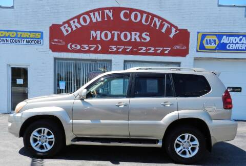 2005 Lexus GX 470 for sale at Brown County Motors in Russellville OH