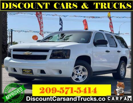 2007 Chevrolet Tahoe for sale at Discount Cars & Trucks in Modesto CA