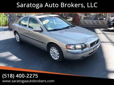 2003 Volvo S60 for sale at Saratoga Auto Brokers, LLC in Wilton NY