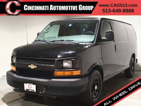 2014 Chevrolet Express Cargo for sale at Cincinnati Automotive Group in Lebanon OH