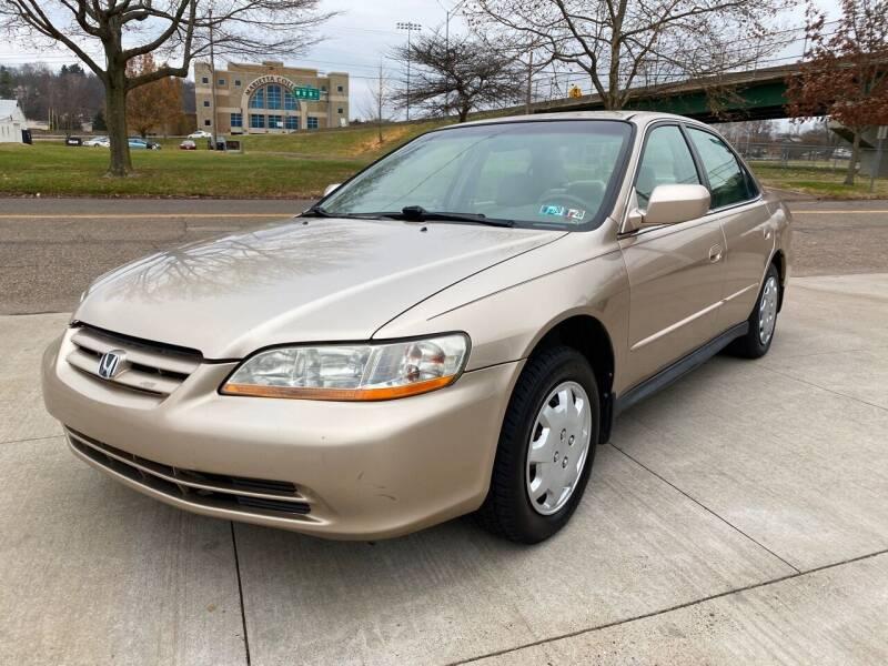 2001 Honda Accord for sale at Dalton George Automotive in Marietta OH