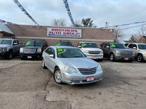 2008 Chrysler Sebring for sale at Brothers Auto Group in Youngstown OH