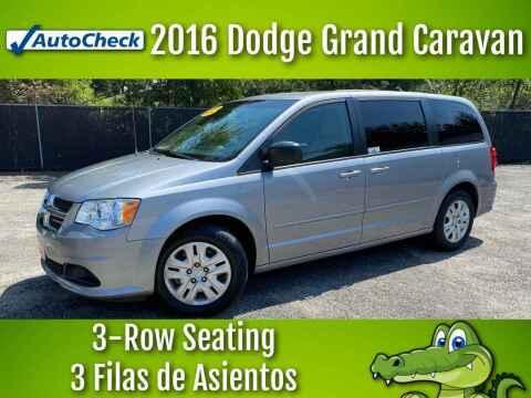 2016 Dodge Grand Caravan for sale at LIQUIDATORS in Houston TX