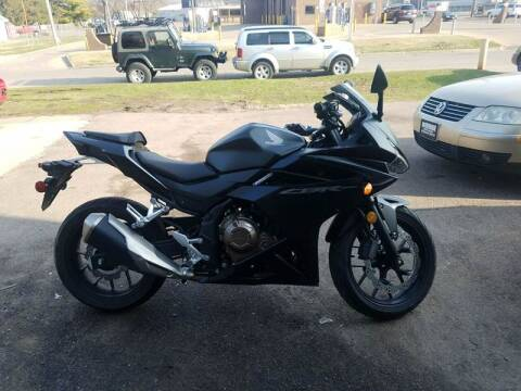 2016 Honda CBR500R for sale at RIVERSIDE AUTO SALES in Sioux City IA