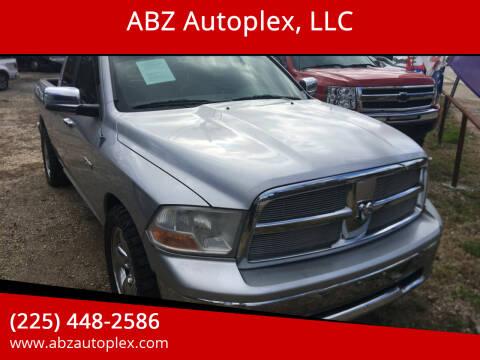 2009 Dodge Ram Pickup 1500 for sale at ABZ Autoplex, LLC in Baton Rouge LA