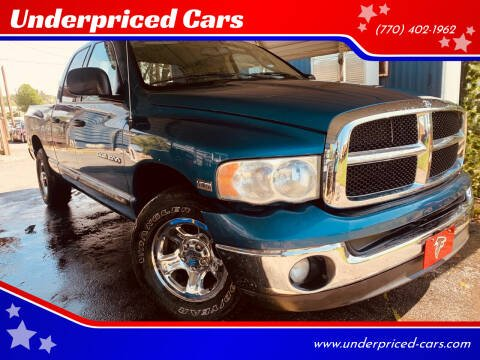 2005 Dodge Ram Pickup 1500 for sale at Underpriced Cars in Marietta GA