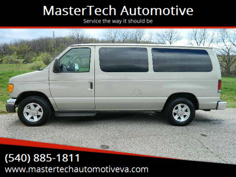 2005 Ford E-Series Wagon for sale at MasterTech Automotive in Staunton VA