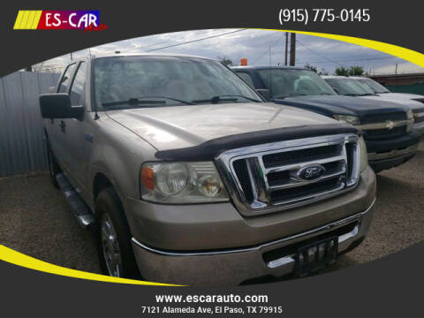 2008 Ford F-150 for sale at Escar Auto in El Paso TX