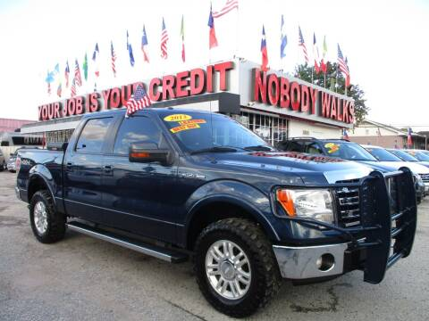 2013 Ford F-150 for sale at Giant Auto Mart 2 in Houston TX