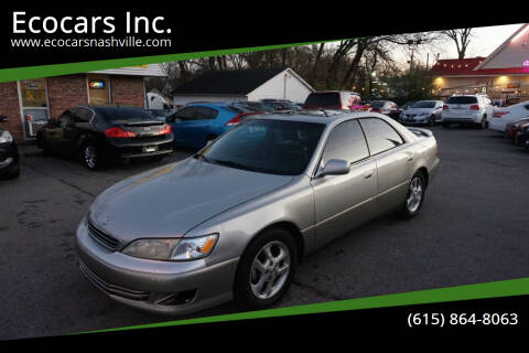 2001 Lexus ES 300 for sale at Ecocars Inc. in Nashville TN