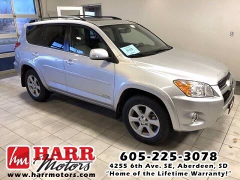 2012 Toyota RAV4 for sale at Harr's Redfield Ford in Redfield SD