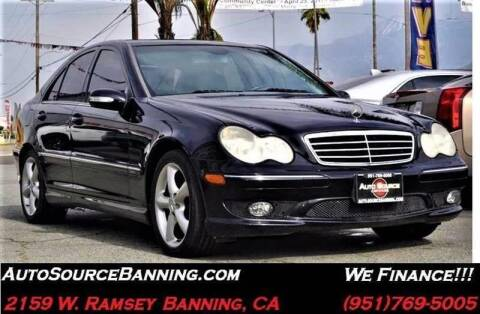 2006 Mercedes-Benz C-Class for sale at Auto Source II in Banning CA