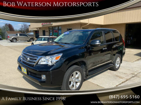 2011 Lexus GX 460 for sale at Bob Waterson Motorsports in South Elgin IL