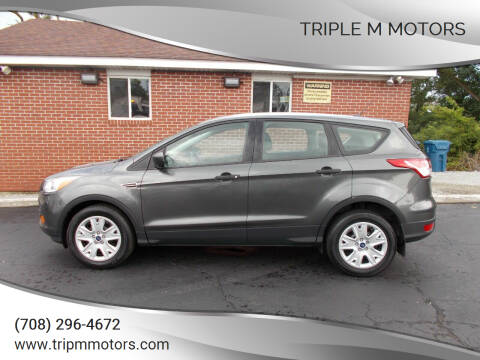 2016 Ford Escape for sale at Triple M Motors in Saint John IN