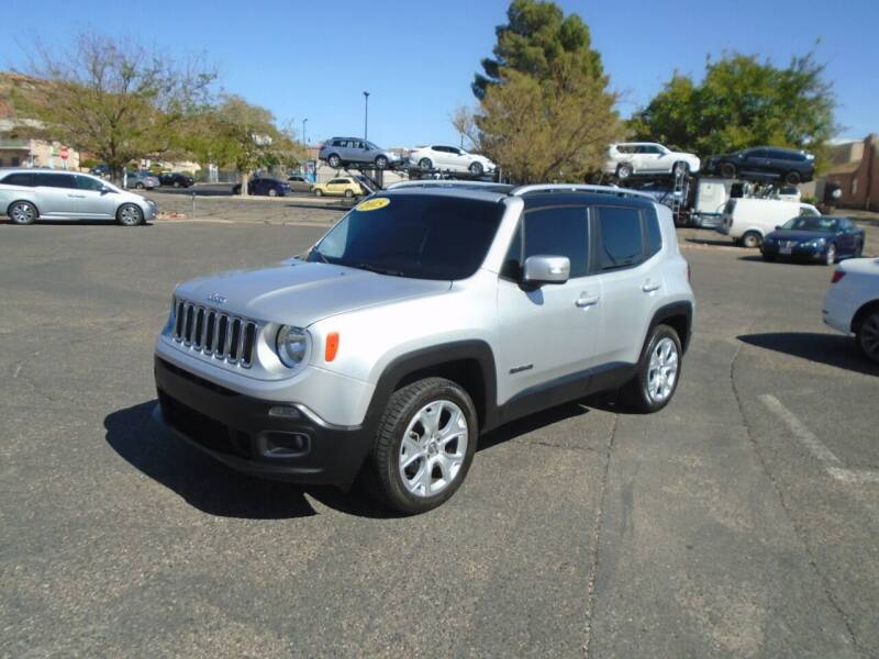 2015 Jeep Renegade for sale at Team D Auto Sales in St George UT