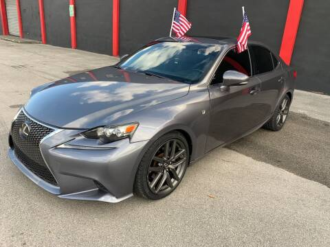 2015 Lexus IS 250 for sale at Ven-Usa Autosales Inc in Miami FL