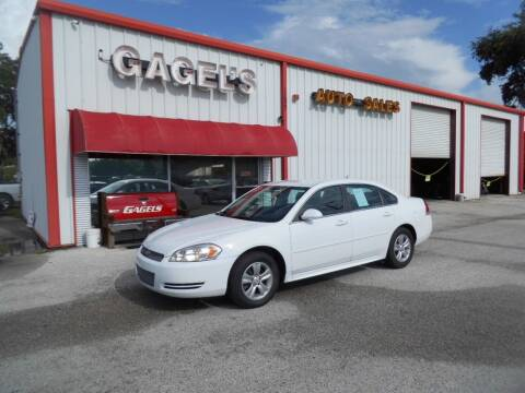 2013 Chevrolet Impala for sale at Gagel's Auto Sales in Gibsonton FL