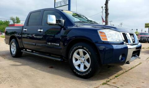 2007 Nissan Titan for sale at AUTO BARGAIN, INC in Oklahoma City OK