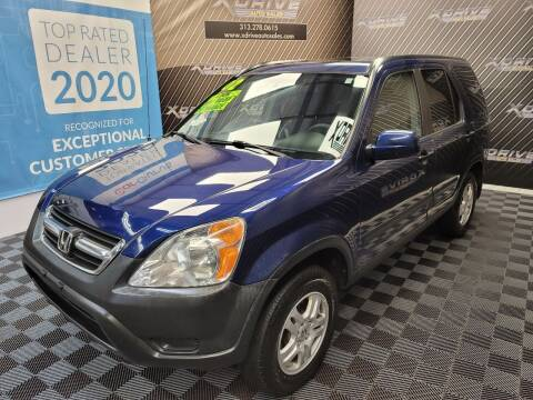 2002 Honda CR-V for sale at X Drive Auto Sales Inc. in Dearborn Heights MI