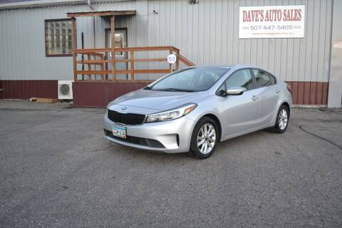 2017 Kia Forte for sale at Dave's Auto Sales in Winthrop MN