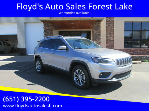 2020 Jeep Cherokee for sale at Floyd's Auto Sales Forest Lake in Forest Lake MN