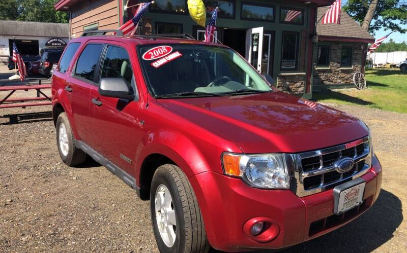 2008 Ford Escape for sale at Winner's Circle Auto Sales in Tilton NH