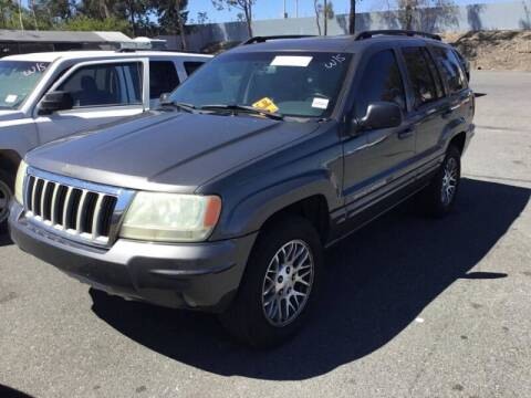 2004 Jeep Grand Cherokee for sale at SoCal Auto Auction in Ontario CA