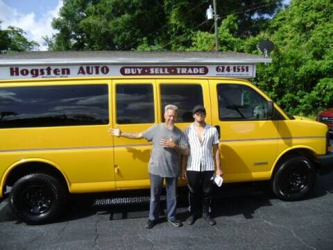 2006 Chevrolet Express Passenger for sale at HOGSTEN AUTO WHOLESALE in Ocala FL