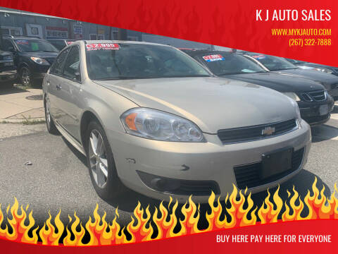 2009 Chevrolet Impala for sale at K J AUTO SALES in Philadelphia PA